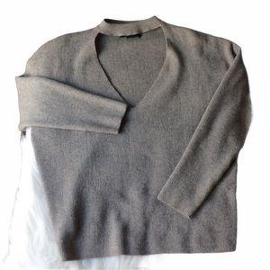F21 Chocker Sweater